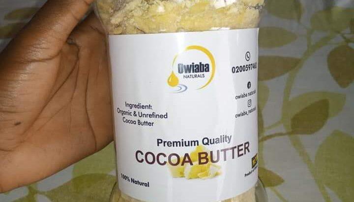 Owiaba Naturals Premium Cocoa Butter