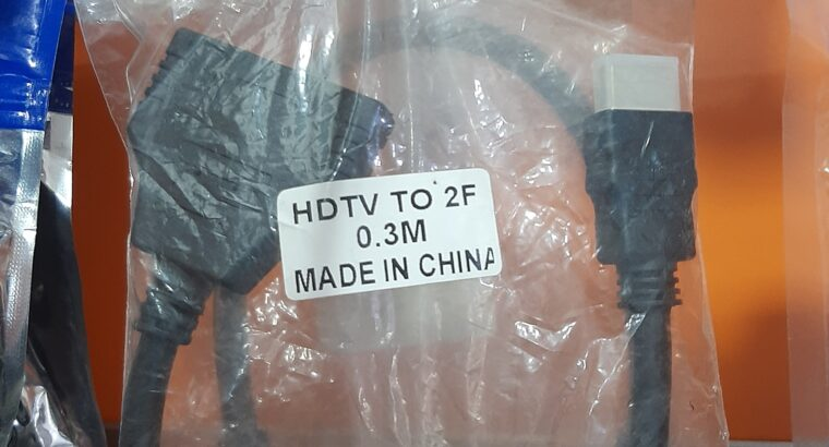 HD TV to 2F 0.3m