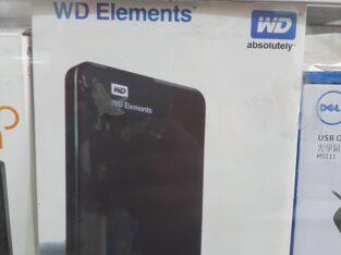 WD Elements Hard drive case