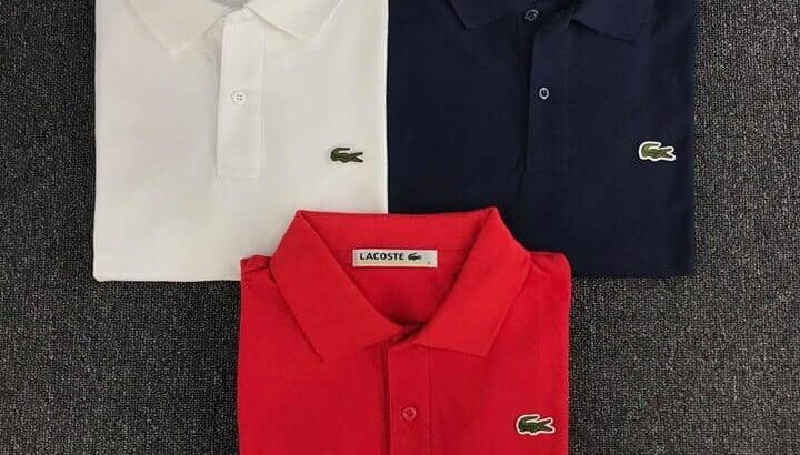 Quality Lacoste shirts
