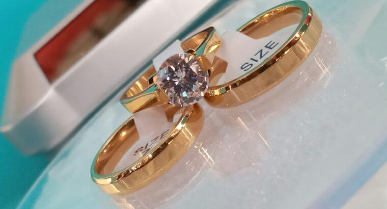 Priceless promise/engagement/wedding rings for sal