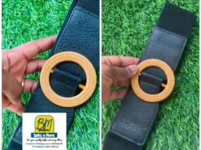 Ladies' waist belt