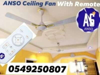 ANSO Ceiling Fan with Remote
