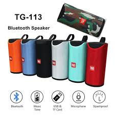 TG Portable Bluetooth Music Player