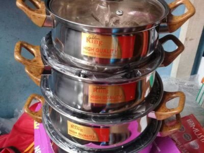 Quality cooking set (Payment on delivery)