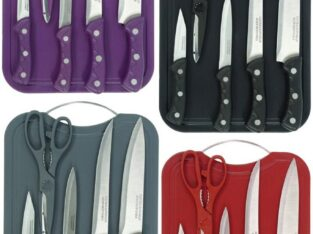 Chopping Board with Knife Set