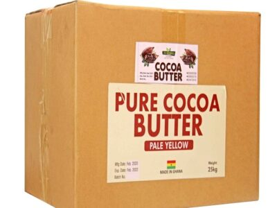 Raw cocoa butter 25kg
