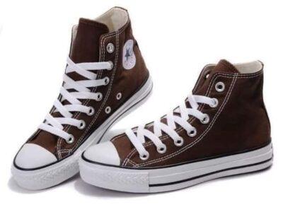 Brown High Top Converse
