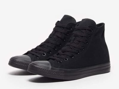Black All Stars Shoes