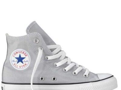 Womens grey Converse High tops