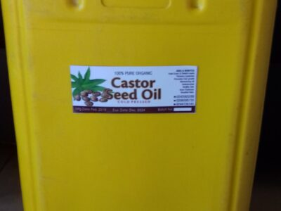 100% Pure Organic Castor Seed Oil