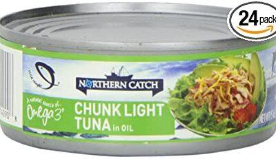 Northern Catch Chunk Light Tuna in Oil