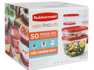 Rubbermaid Easy Find Lids 50 Piece Set