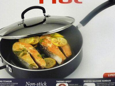 T-fal Specialty Nonstick Jumbo Cooker Sauté Pan