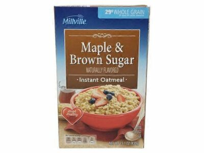 Millville Maple & Brown Sugar Instant Oatmeal