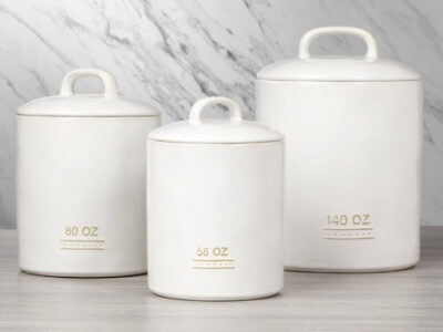 Bico 3 Piece Canister Set