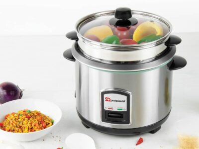 SQ Professional Lustro Stainless Steel Rice Cooker