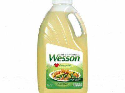 Pure & 100% Wesson Canola Oil