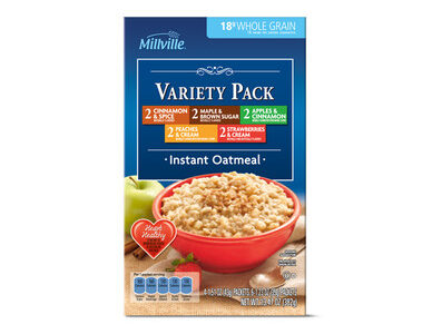Millville Instant Oatmeal Variety Pack