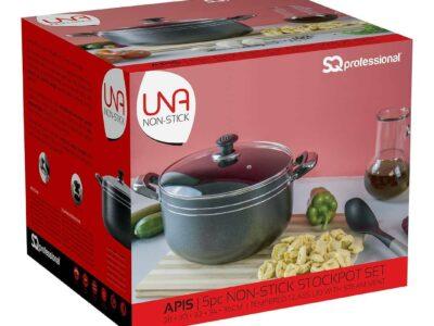 SQ Pro UNA Non-Stick Stockpot Set