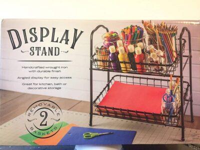 2-tier Angled Display Stand