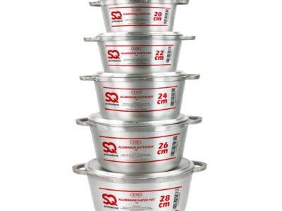 SQ Pro Aluminium Ceres Dutch Pot Sets