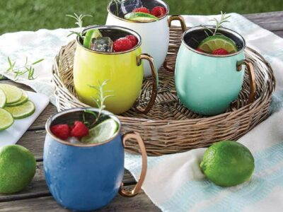 Member's Mark Colorful Moscow Mule Cups