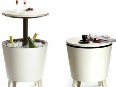 Keter Cool Bar Table / Cocktail / Coffee 3-in-1