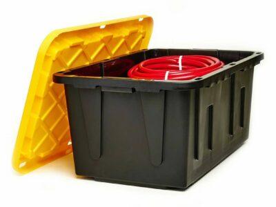 Homz Durabilt 27 Gallon Tough Container
