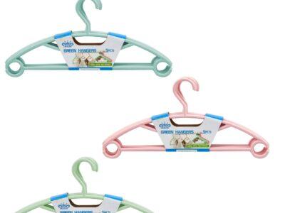 Green Hangers 5pcs