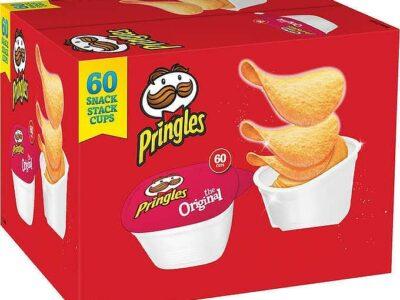 Pringles Snack Stacks Potato Crisps Potato Cup