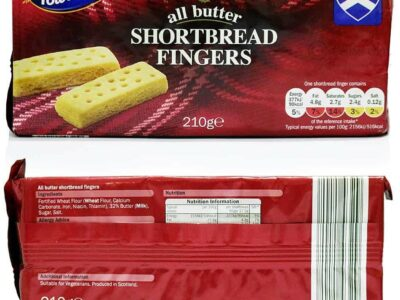 Tower Gate All Butter ShortBread Fingers 210G