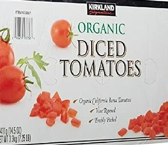 Kirkland Signature Organic Diced Tomatoes, 14.5 oz