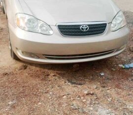 Ghana Used Toyota Corolla LE