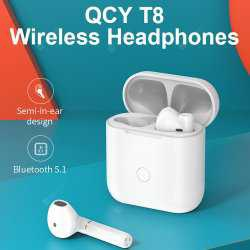 QCY T8 TWS True Wireless Stereo Bluetooth Headset Headphone Earbuds
