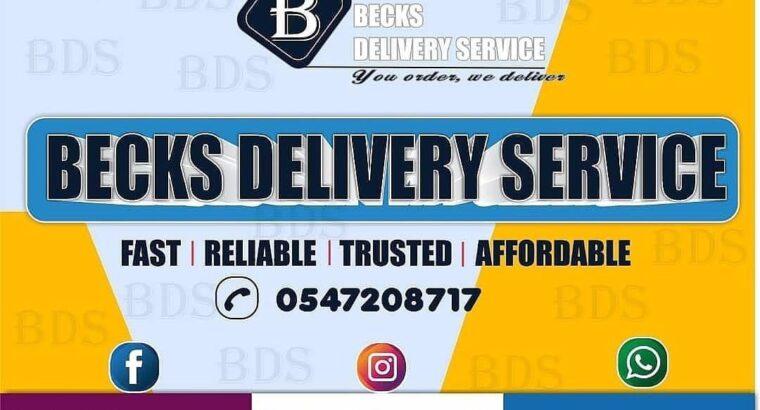 Becks Delivery Service
