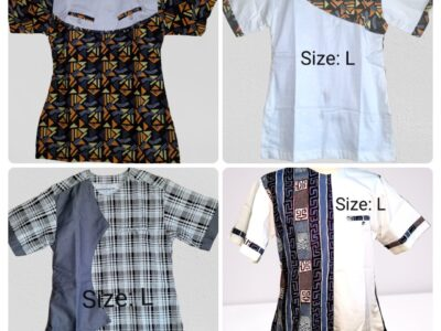Quality Men's Short sleeves African Wear