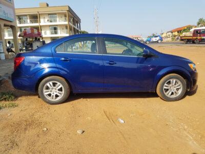 Chevrolet Sonic Model: 2014
