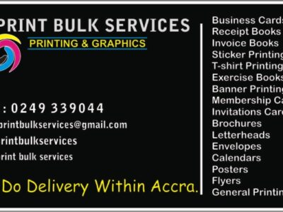 Print Bulk Services