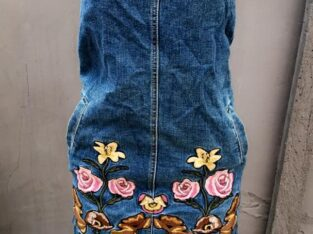 Jeans Overall Dress for Women
