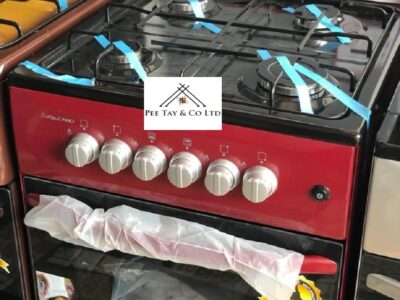 Volcano 50×50 4 burner gas cooker with oven and gr