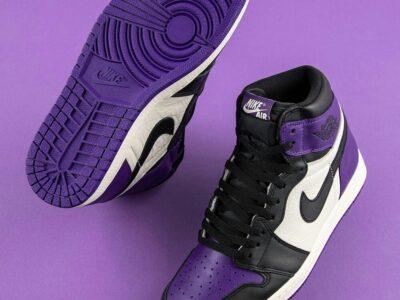 Nike Jordan 1 Purple