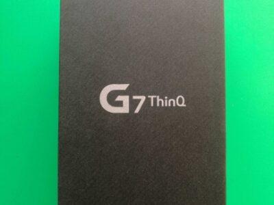 New LG G7 ThinQ 4GB + 64GB, Grey