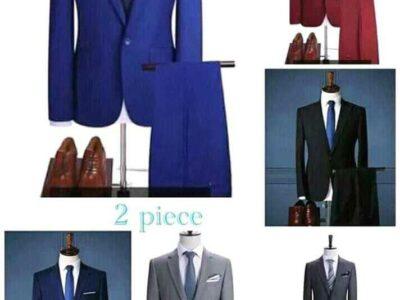 Men two pieces suit