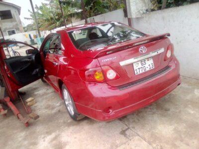 2009 Toyota Corolla S for Sale in Ghana