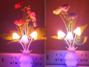 Mushroom night light