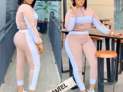 Running tracksuit for ladies