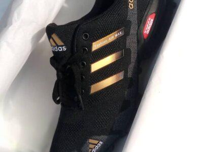 Adidas Fashion Air Max Gold Stripes