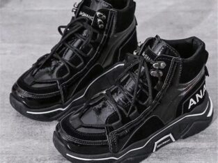 Black Ana Sneakers for Women