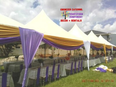 Cake, decoration and rentals